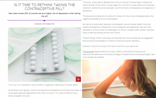 Women's Health UK - Is it time to rethink your contraception?